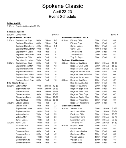 Spokane Classic, April 22-23 2017, Event Schedule Day 1.jpg