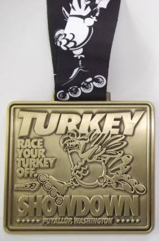 Turkey Showdown Medal 2018